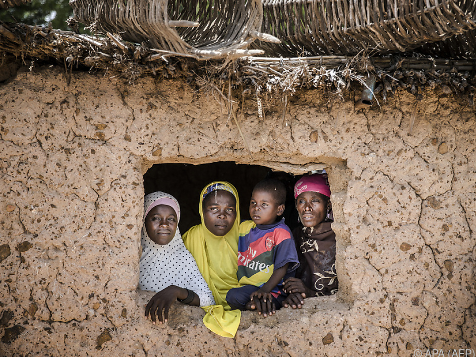 Kinder im Niger haben eine Lebenserwartung von 60 Jahren