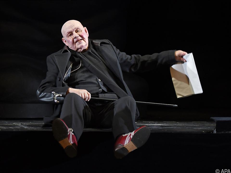 Kirchner spielte seit 1987 am Burgtheater