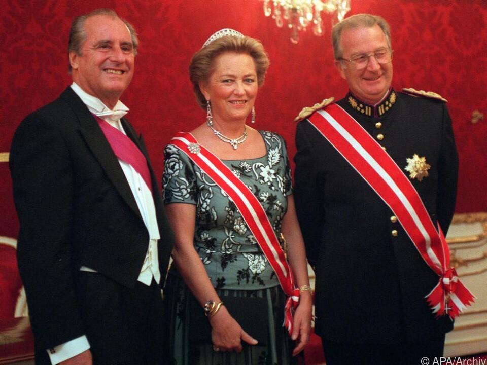 Königin Paola erlitt einen Schlaganfall