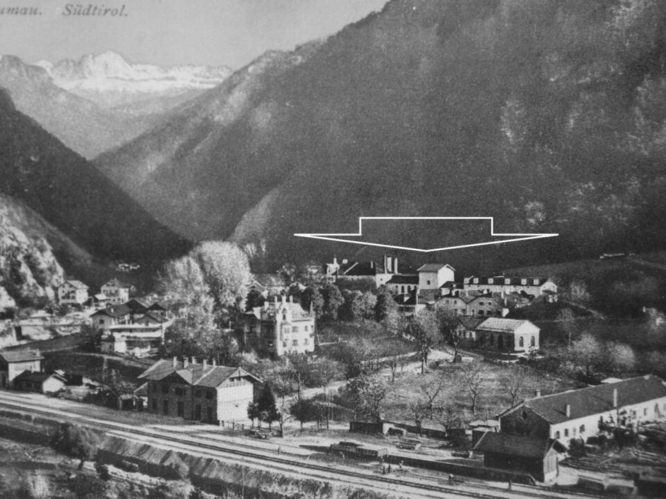 Konzentrationslager in der Ex-Brauereu Blumau-Vilpian (Archiv Karl Saxer) (1)