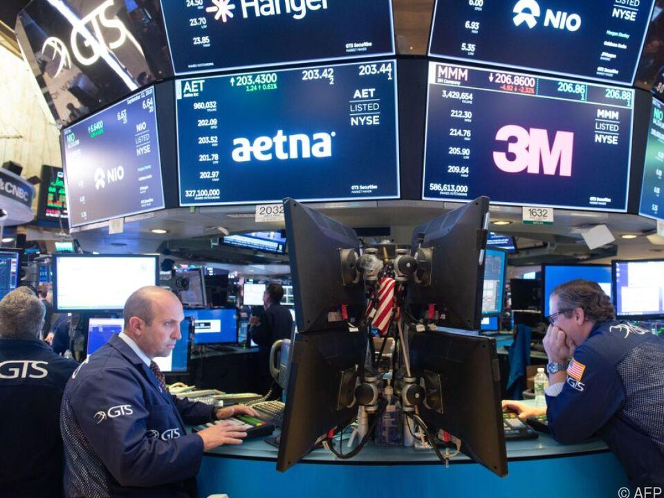 Kursrekorde an der Wall Street