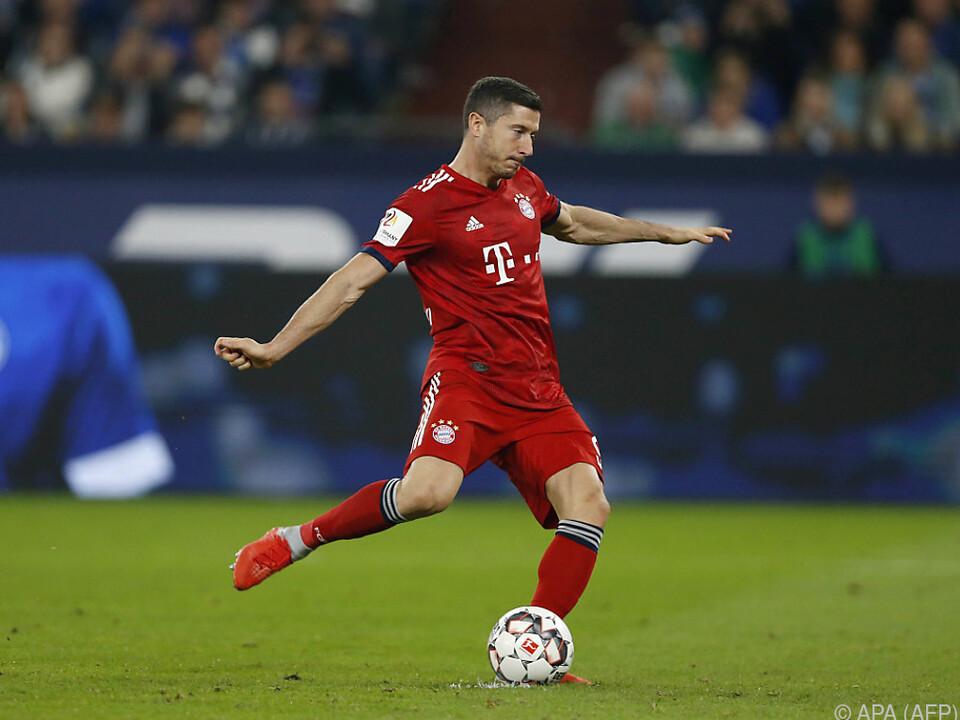 Lewandowski erzielte das 2:0 vom Elfmeterpunkt