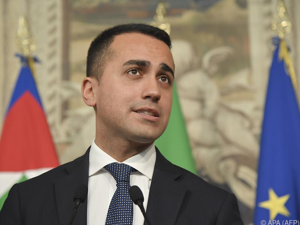 Luigi Di Maio ist gegen die Liberalisierung der Öffnungszeiten