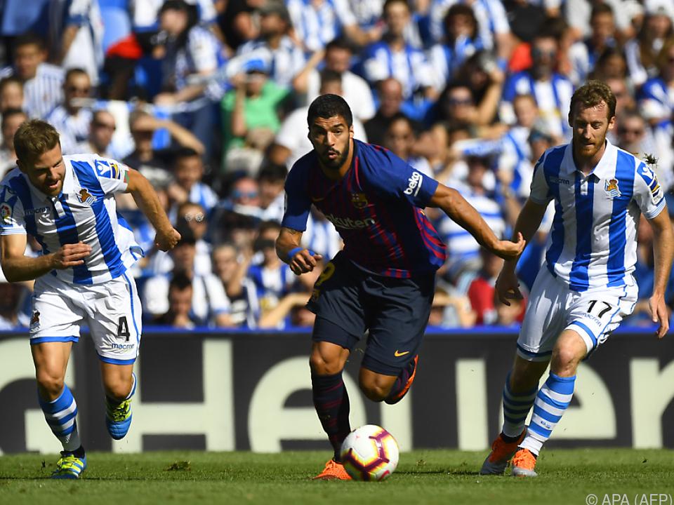 Luis Suarez hatte zu beißen