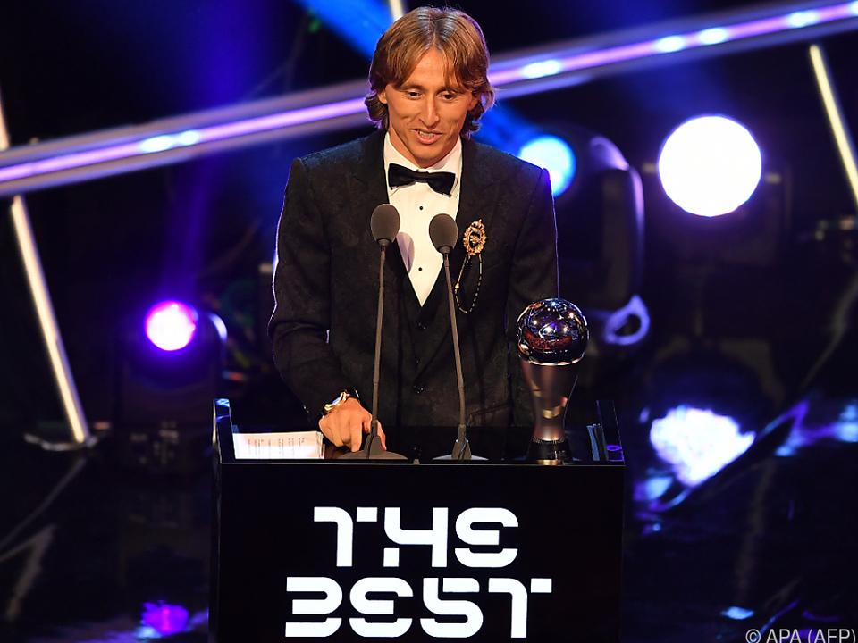 Luka Modric ist FIFA-Weltfußballer des Jahres