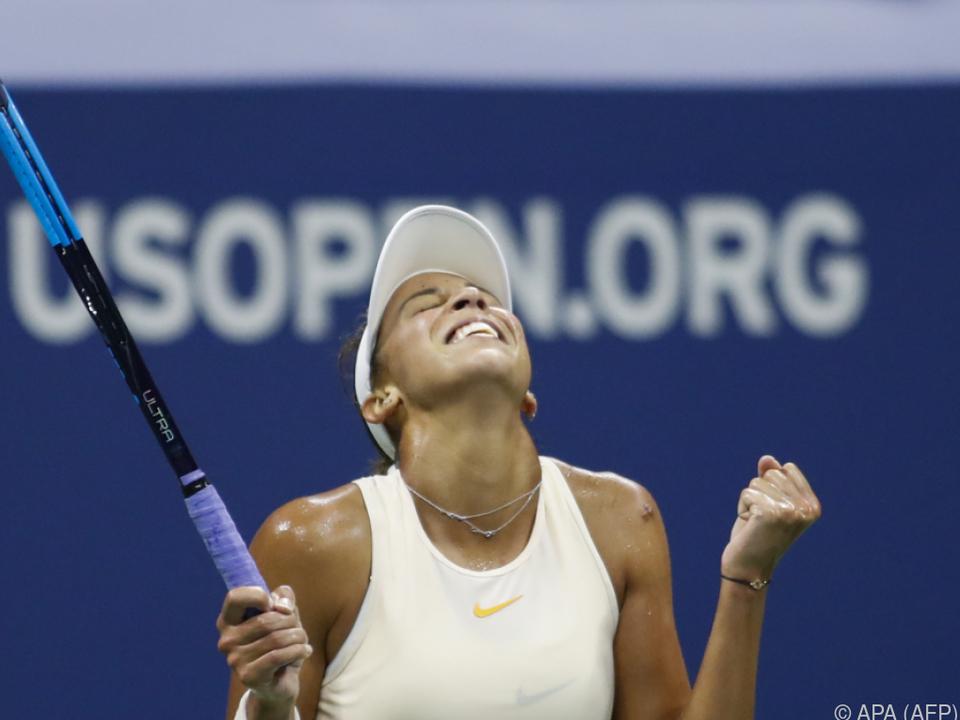 Madison Keys rückt einer erneuten Finalteilnahme näher