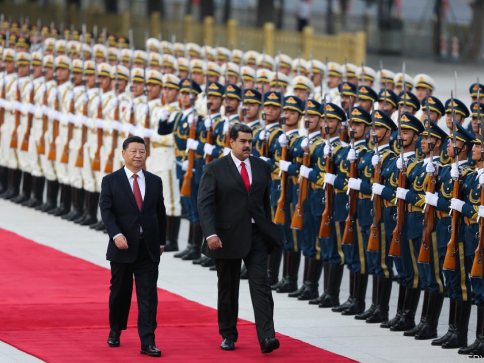 Maduro sichert sich Unterstützung in China