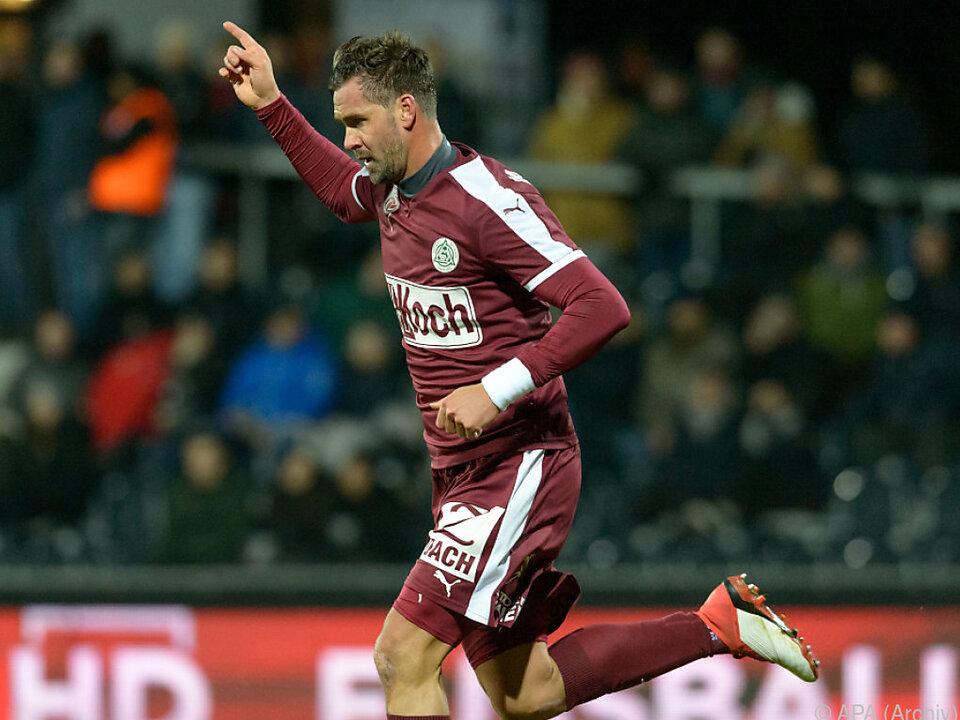 Maierhofer spielt weiter in der zweiten Schweizer Fußball-Liga