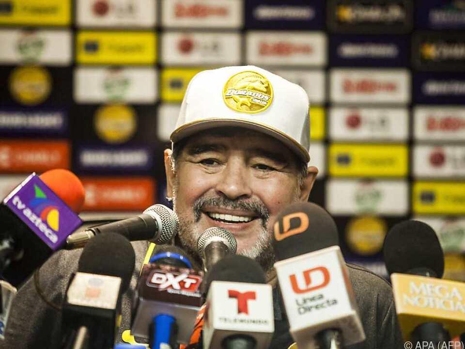 Maradona war überglücklich
