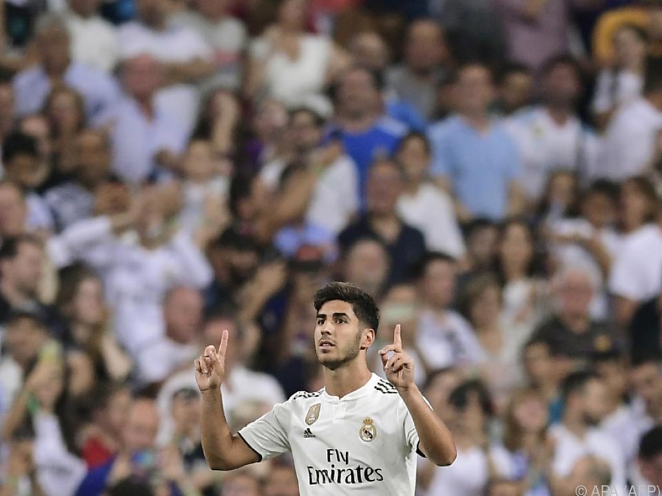 Marco Asensio erzielte den Siegtreffer