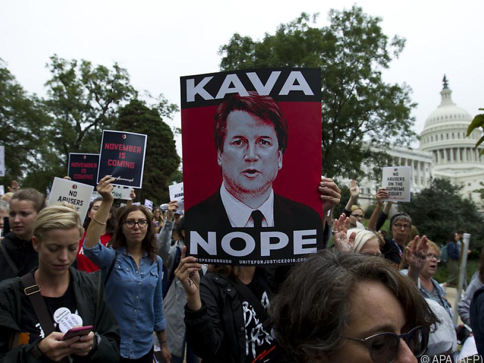 Massive Proteste gegen Richter-Kandidat Brett Kavanaugh