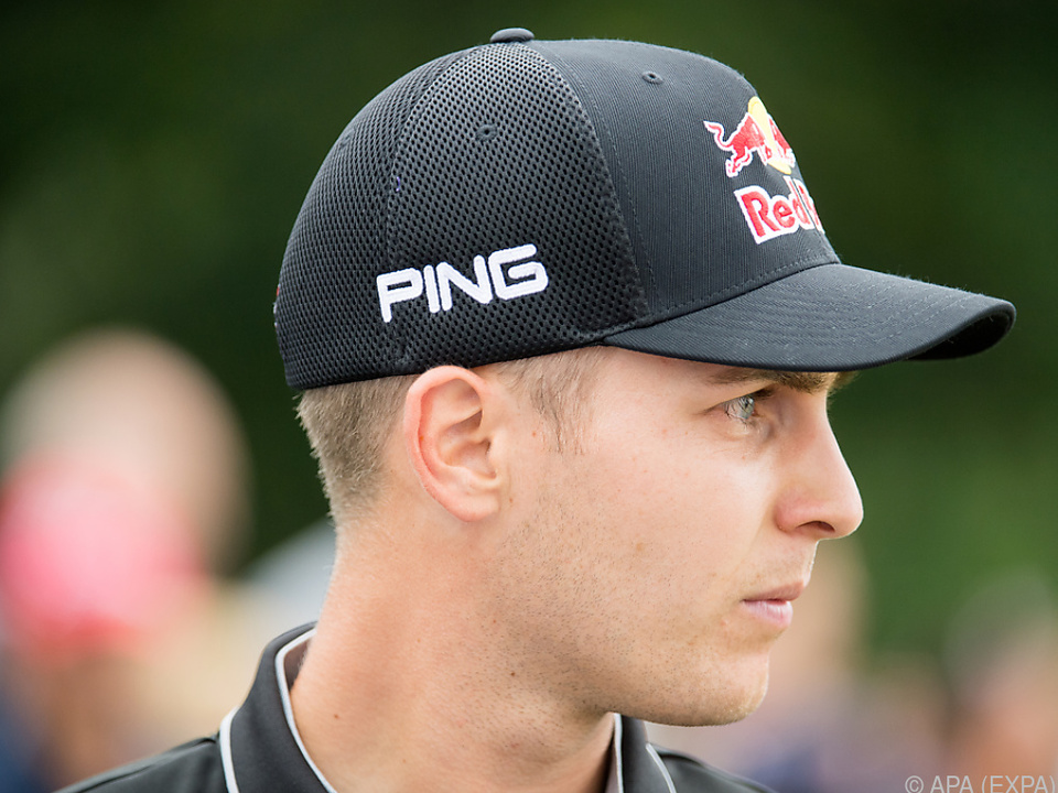 Matthias Schwab startete mit Par-Runde
