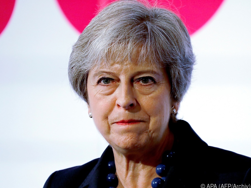 May verlangte in scharfen Worten mehr Respekt aus Brüssel