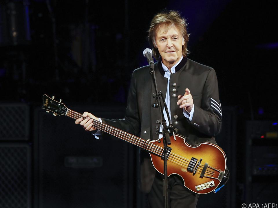 McCartneys neues Album kam direkt auf Platz eins