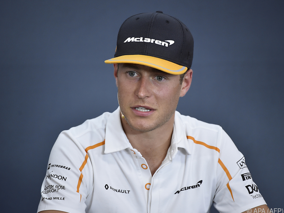 McLaren trennt sich mit Ende der Saison vom Belgier Stoffel Vandoorn