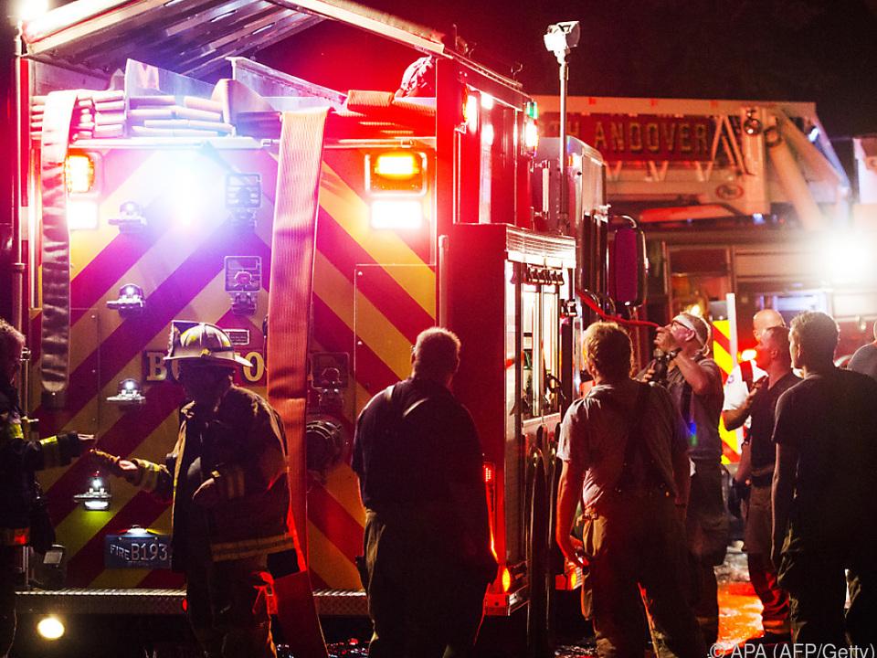 Mehrere Gasexplosionen in Massachusetts