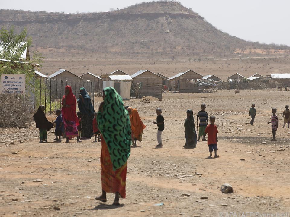 Menschen in Afrika leiden oft an Versorgungsproblemen