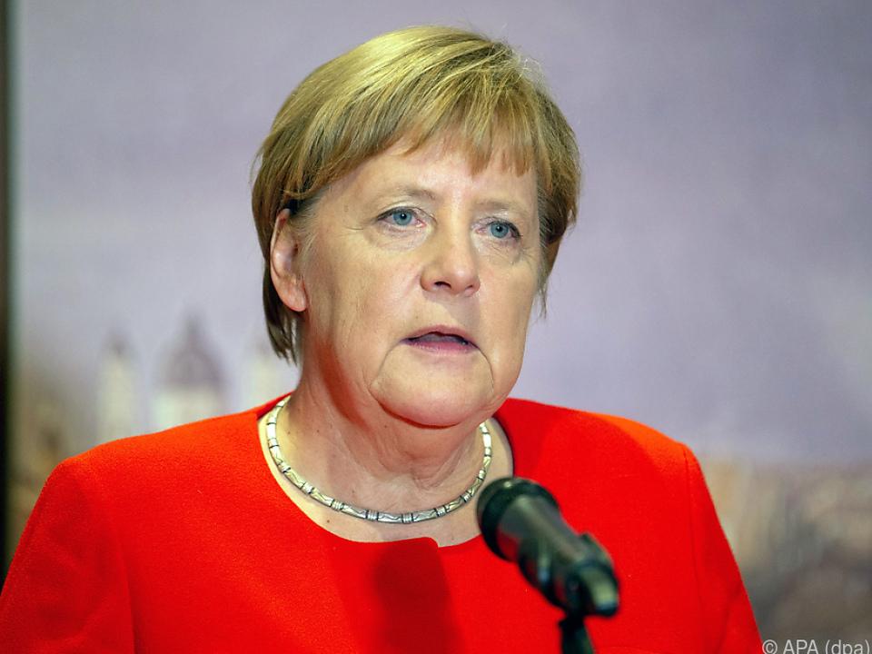 Merkel fordert Konzentration auf die Sacharbeit