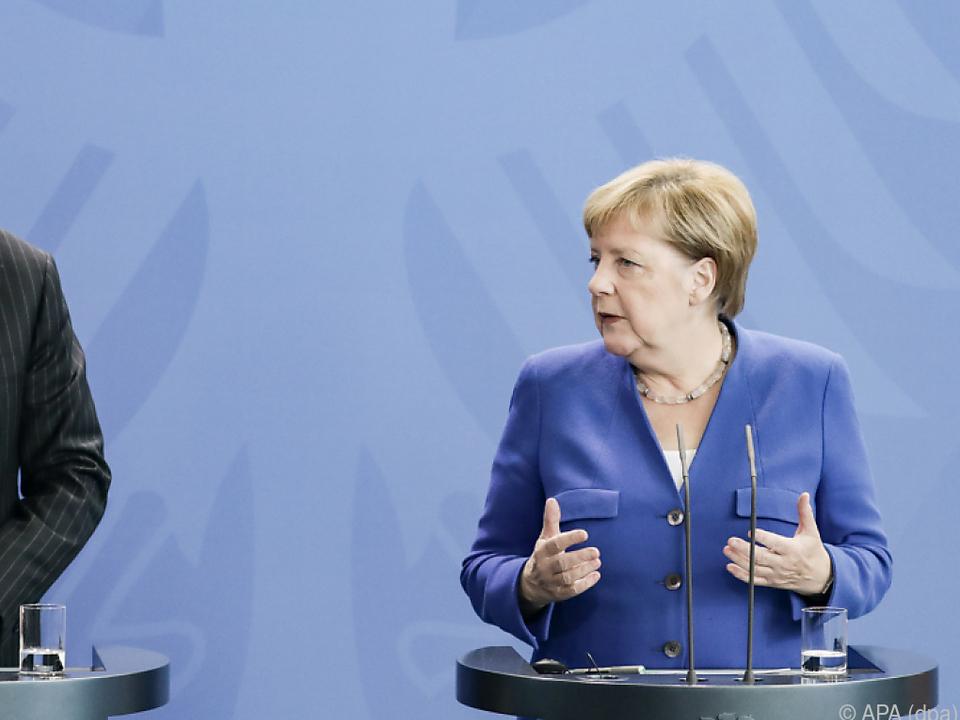 Merkel und Erdogan lieferten sich einen Schlagabtausch