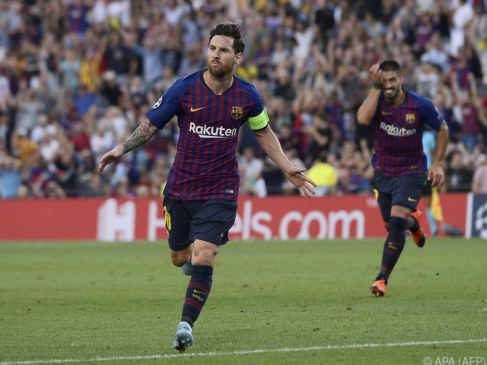 Messi führte den FC Barcelona mit drei Treffern zu einem 4:0-Sieg