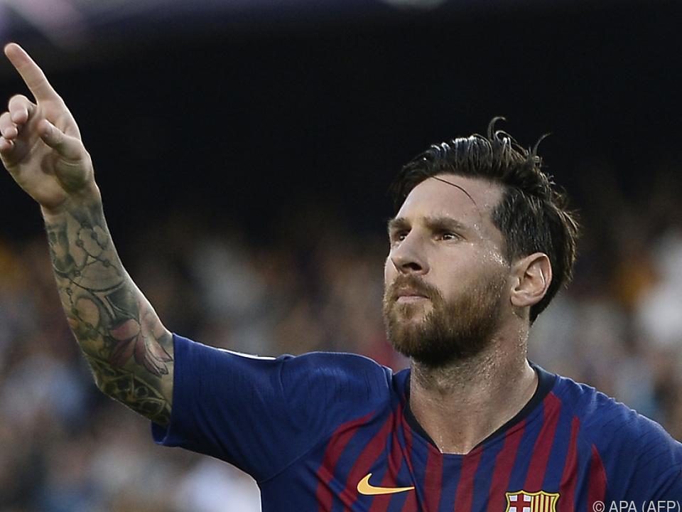 Messi zeigte sich in Topform