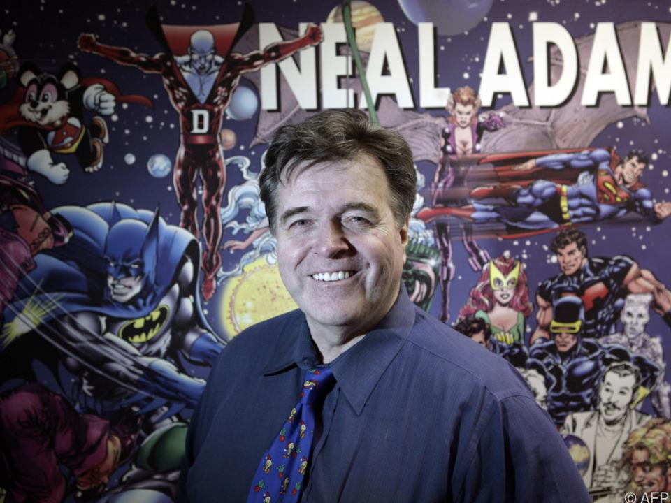 Neal Adams verlieh Batman einen düsteren Anstrich