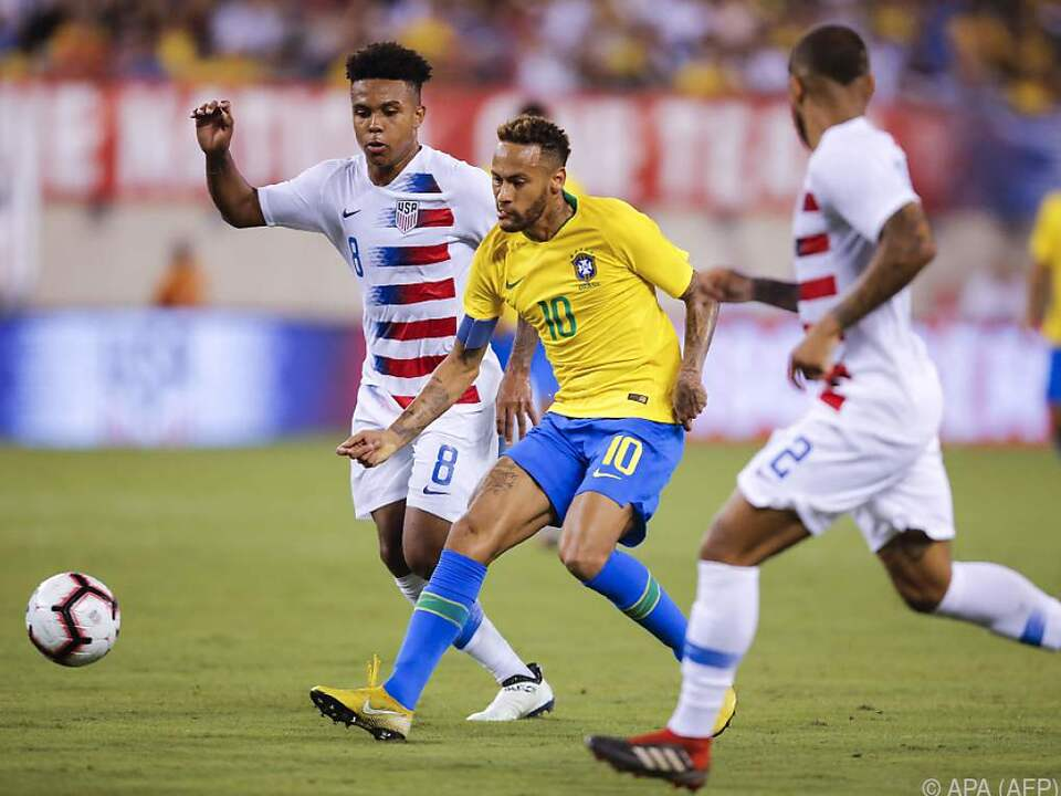Neymar zeigte all sein Können und traf zum 2:0