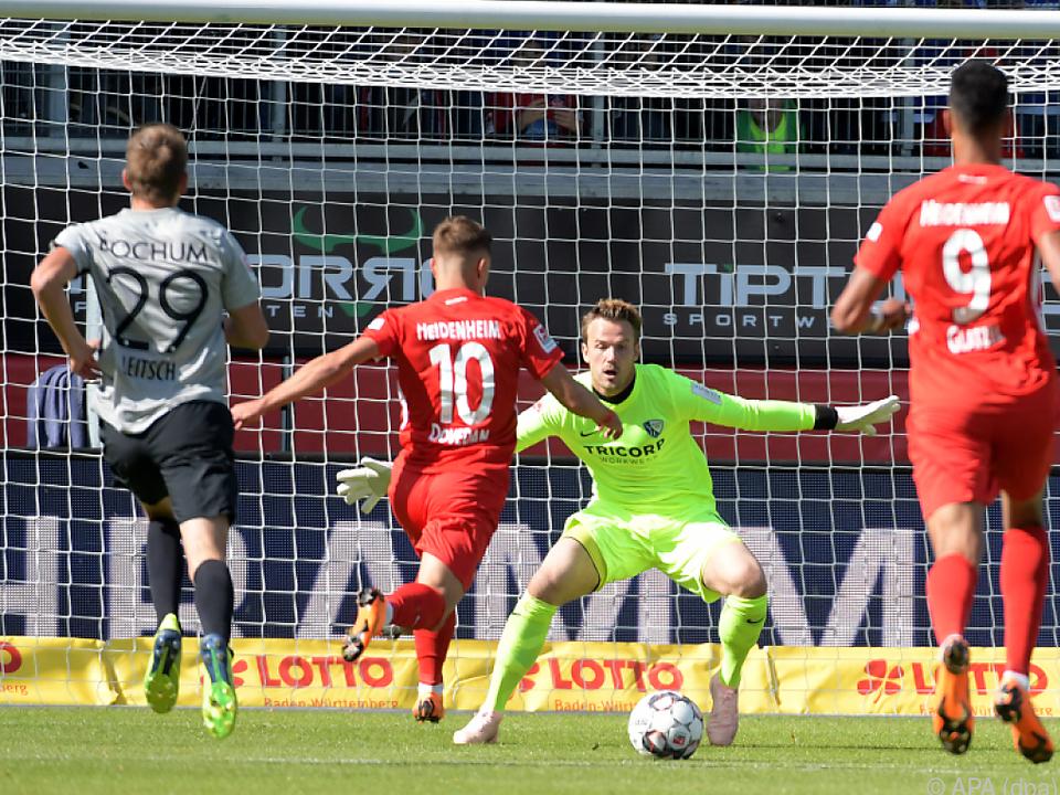 Nikola Dovedan bei seinem Treffer zum 1:0