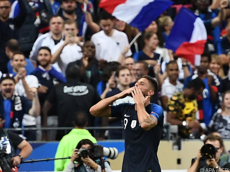 Olivier Giroud machte den verdienten Sieg perfekt