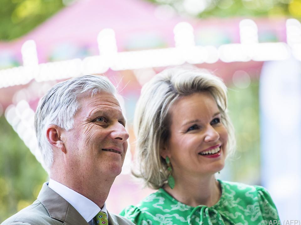 Philippe und Mathilde erwiesen sich als Outdoor-Fans