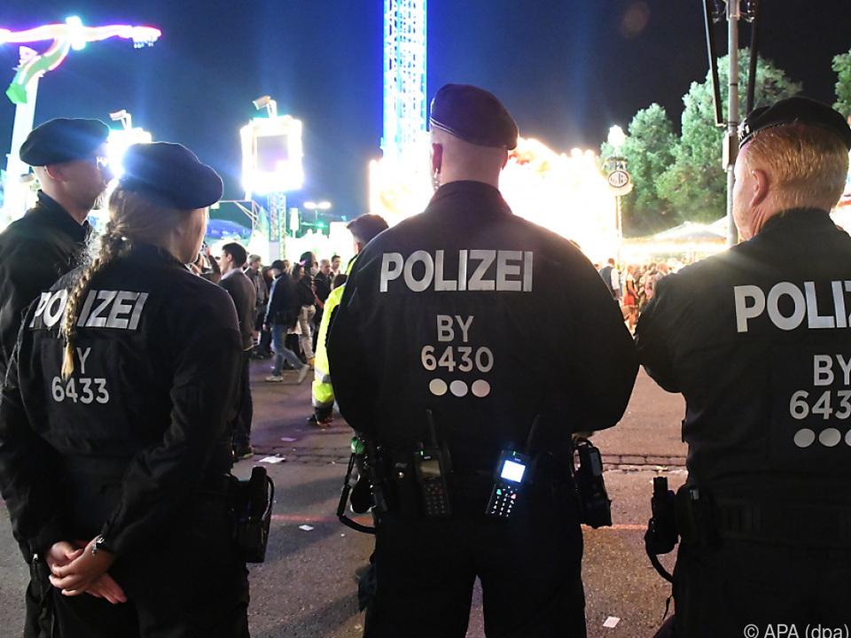Polizeieinsatz beim Münchner Oktoberfest