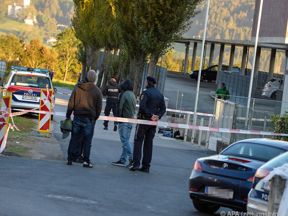 Polizeieinsatz in einer Tiroler Schule