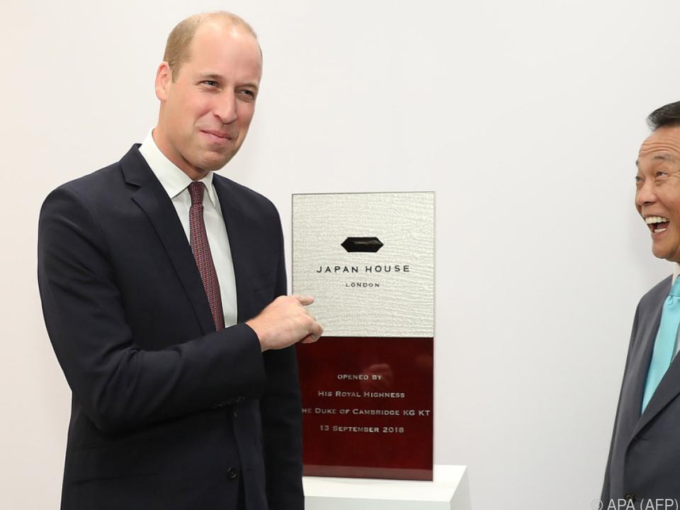 Prinz William outete sich als Sushi-Liebhaber