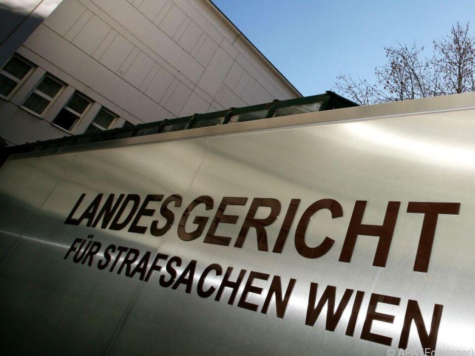 Prozess im Wiener Landesgericht