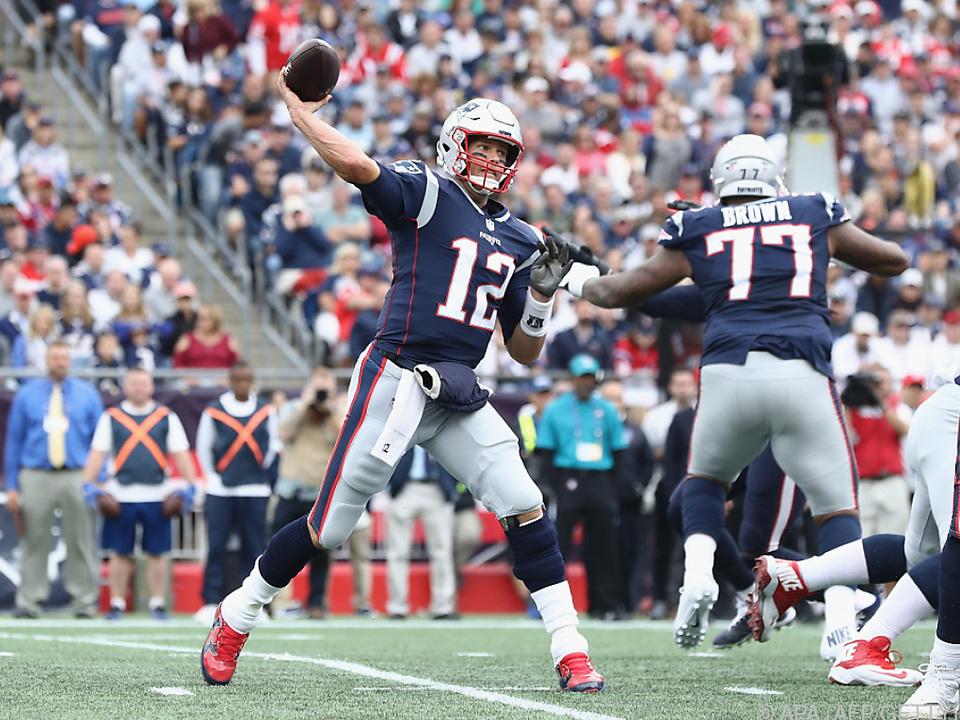 Quarterback Brady steuerte drei Touchdown-Pässe bei