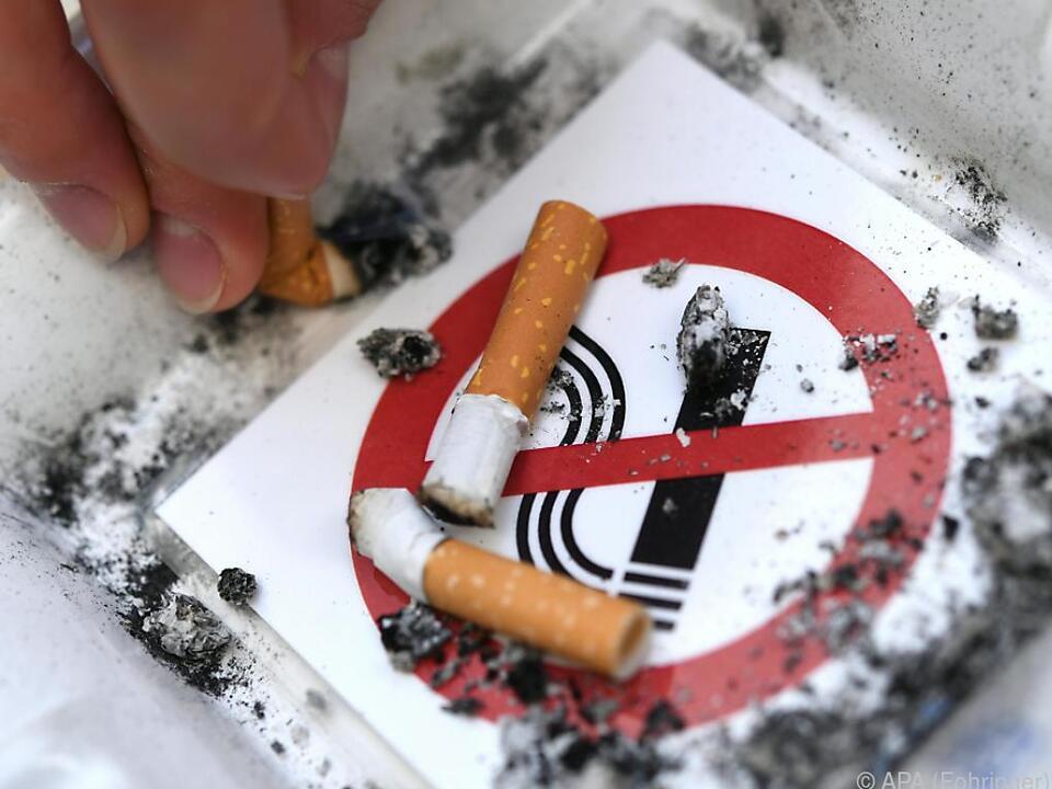 Rauchen ist für viele Sterbefälle verantwortlich