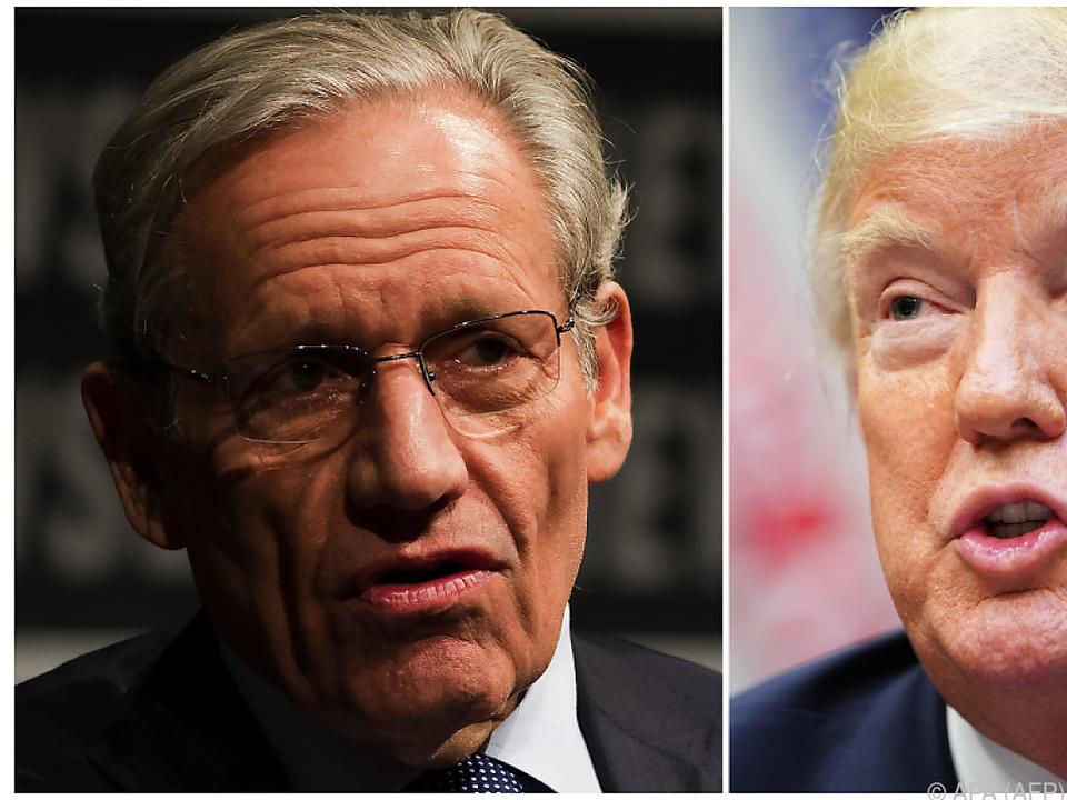 Reporterlegende Woodward knöpft sich US-Präsident Trump vor