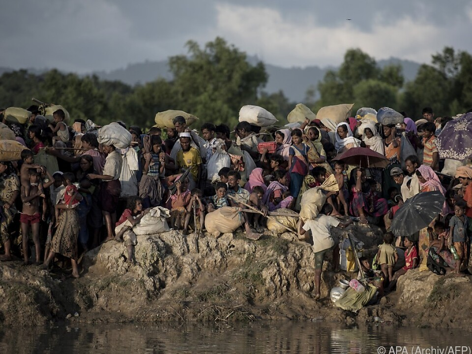 Rohingyas wurden gnadenlos vertieben