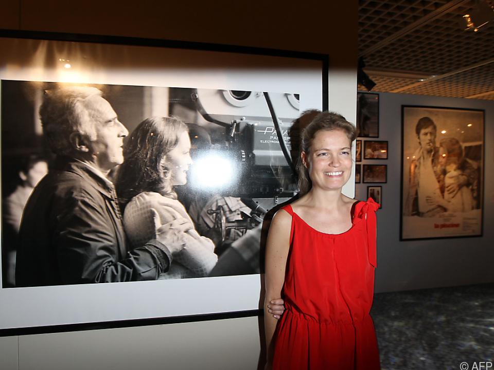 Sarah Biasini sieht ihrer Mutter Romy Schneider sehr ähnlich
