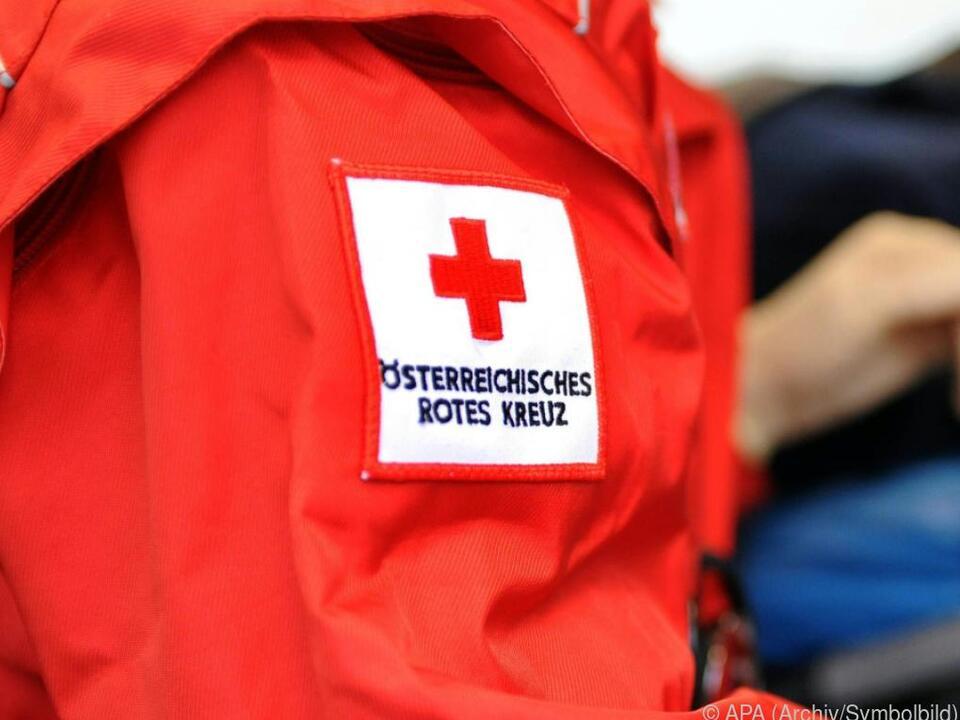 Rotes Kreuz versorgte die Verletzten