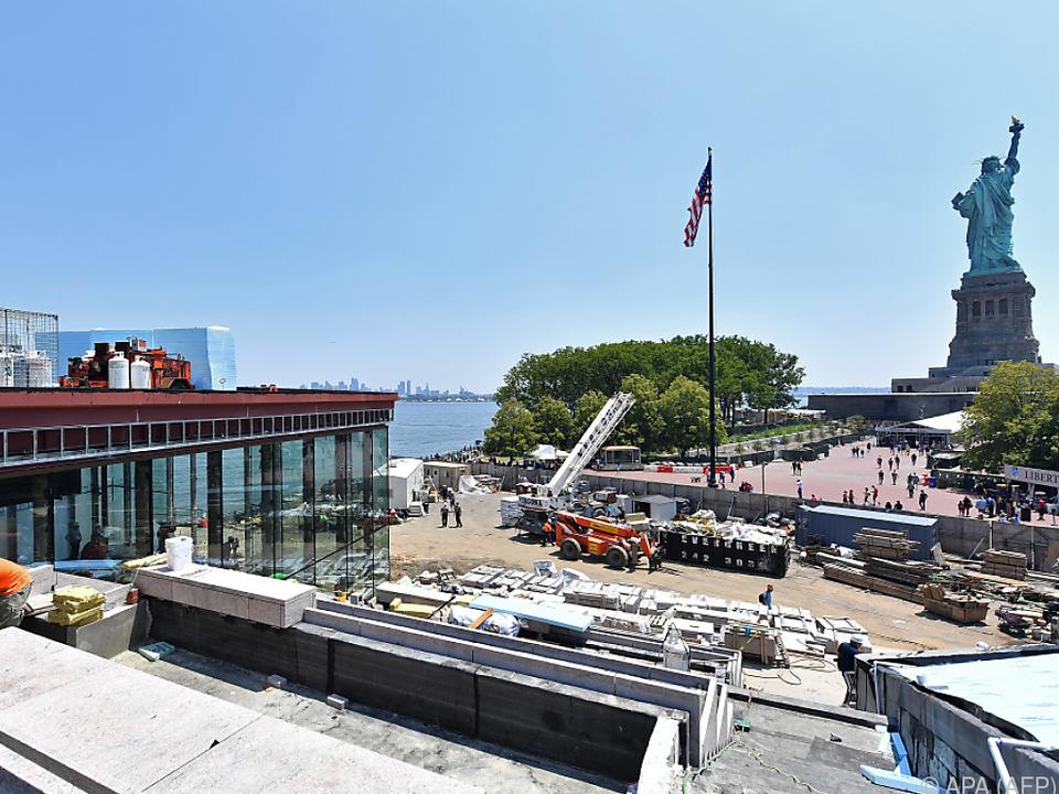 Rund 4,5 Millionen Menschen besuchen pro Jahr Liberty Island
