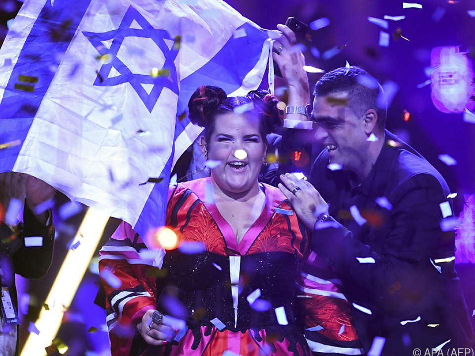 Sängerin Netta holte den Bewerb mit ihrem Sieg nach Israel