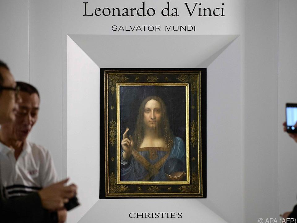 Salvator Mundi ist das teuerste Gemälde der Welt