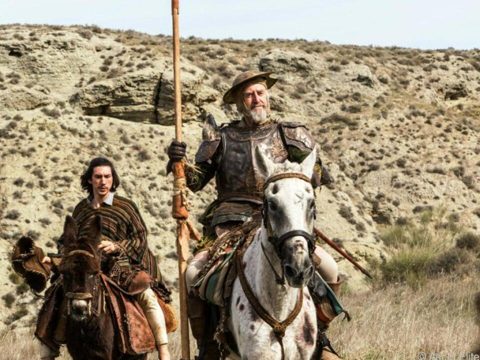 Jonathan Pryce (r.) und Adam Driver in den Hauptrollen