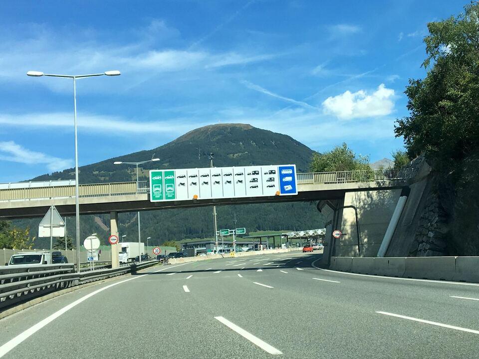 Schönberg, Autobahn, STF, kein Stau