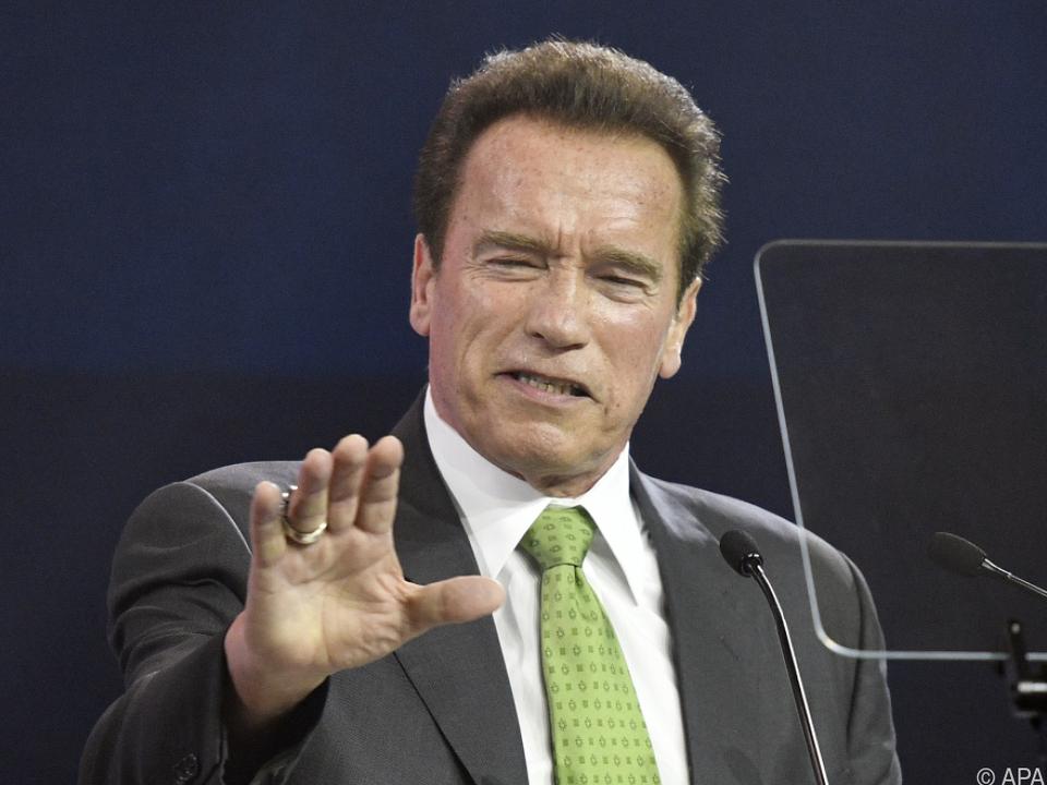 Schwarzenegger lud sie per Tweet nach Wien ein