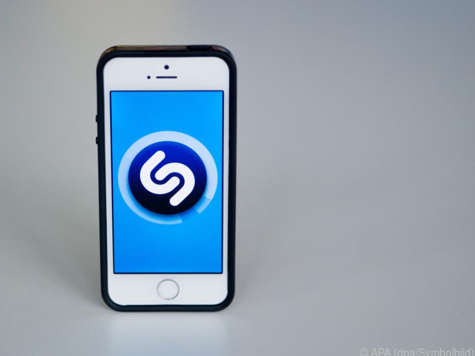 Shazam erkennt Musik