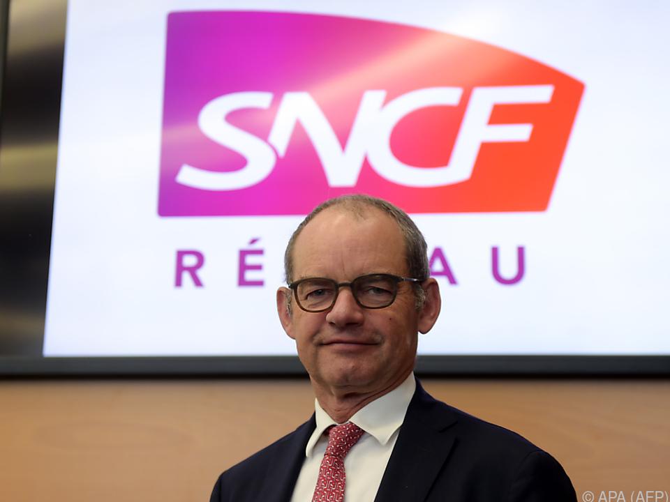SNCF-Boss Patrick Jeantet