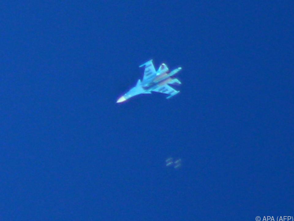 So mancher  Suchoi Su-34-Jagdbomber wird im Einsatz sein