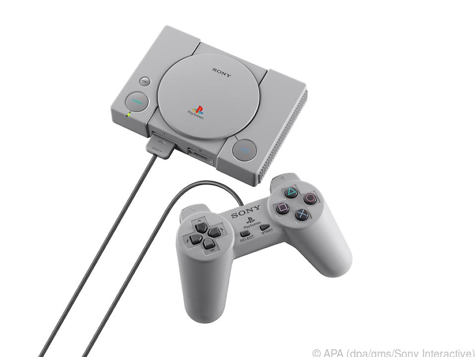 Sonys Playstation Classic soll Anfang Dezember in den Handel kommen